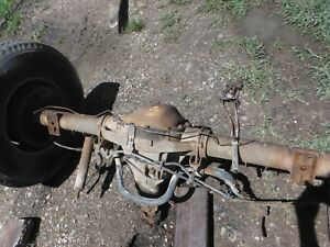 1987 97 Ford F250 F350 Sterling Rear Axle Assembly 3 55 Gears Will Ship