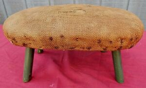 Primitive Antique Footstool Foot Stool