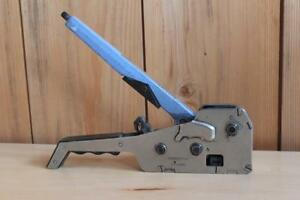 Orgapack Model H 771 Combo Strapping Tool 1 2 Polypropylene Polyester