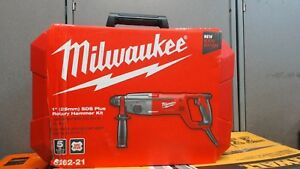 Milwaukee 5262 21 1 Sds Plus Rotary Hammer Kit Corded