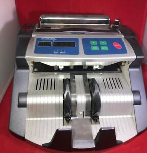 Accubanker Ab1100 basic Money Bill Counter W Display Power Cord