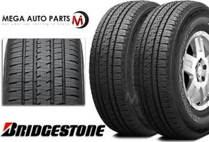 2 X Bridgestone Dueler Hl Alenza Plus P245 70r16 106h Premium All Season Tires