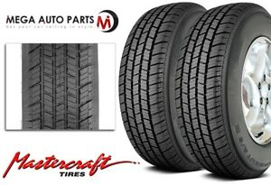 2 X New Mastercraft A s Iv P205 75r14 95s M s All Season High Performance Tires