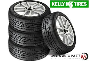 4 X New Kelly Edge Hp 215 45r17 91w All Season Highway High Performance Tires