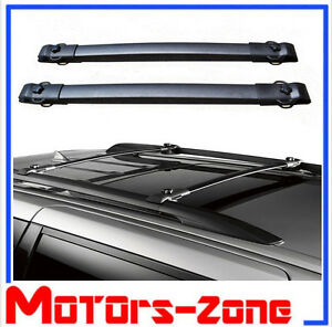 For 11 17 Toyota Sienna Oe Style Roof Rack Cross Bars Luggage Carrier Bar Pair