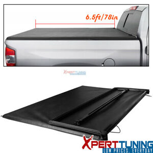 Fits 94 02 Dodge Ram 1500 2500 3500 6 5ft 78in Bed Tri fold Soft Tonneau Cover