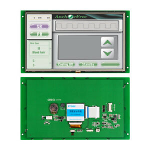 Stone Embedded Graphic Board Lcd Didital Display 1024 600 Controlled Board
