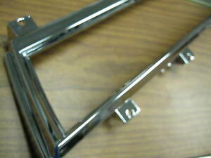 1966 1967 66 67 Chevelle El Camino New Chrome Dash Gauge Housing Bezel