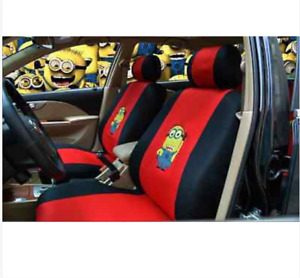 2018 New Cute 10 Pcs Snoopy Universal Full Coverage Car Seat Covers