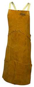 Lincoln Electric Co Leather Welding Apron Kh804