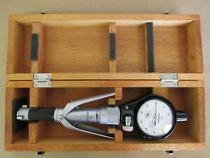 Mitutoyo Bore Micrometer Hole Test Borematic 568 223 W 2949 50 Dial Indicator
