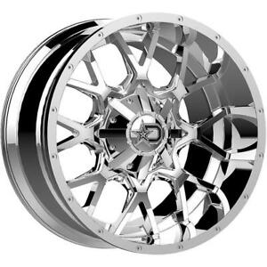 20 Inch 20x10 Dropstars 645c Chrome Wheel Rim 6x5 5 6x139 7 19