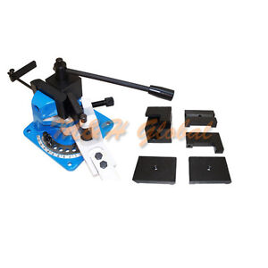 Universal Hot Cold Steel Bender Flat Angle Square Round Metal Fabrication