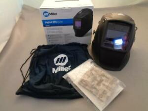 Miller Digital Elite Series Black Auto Darkening Welding Helmet In Box