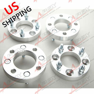 4pcs 1 25mm 4x114 3 To 4x114 3 Wheel Spacers 4 Lug Adapters 4x4 5 To 4x4 5