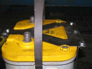 Qty 2 Optima 34 78 Battery Box Mount Yellow Red Top Custom Offroad