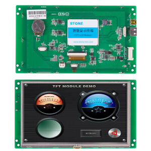 High Brightness Intelligent Tft Lcd Stone Display Serial Interface 7 Display