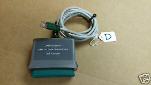 lotd Omniscanner Microtest Panduit Giga channel Tx 6 Link Adapter