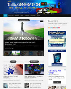 Web Traffic Website