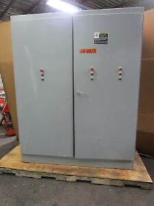 Hoffman A907224fsd 90 x72 x24 Hinged Free Standing Electrical Enclosure Type 12