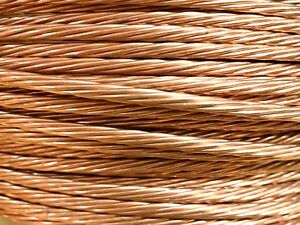 50 Ft Ground Wire 4 Awg Gauge Stranded Bare Copper Service