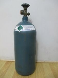 40 Cu Ft Steel Industrial Compressed Nitrogen Gas Cylinder Tank Cga580