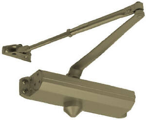 Tell Manufacturing Inc Commercial Door Closer Duro Finish Size 4 Dc100048