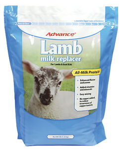 Manna Pro Corp Lamb Milk Replacer With Colostrum 8 lbs 0094050217