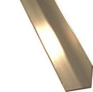 Steelworks Boltmaster Anodized Aluminum Angle 1 8 X 1 X 36 in 11446