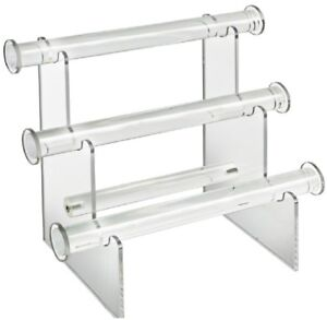 Bracelet Counter Display Clear Durable Home Indoor Store Jewelry Holder Assemble
