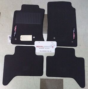 Toyota Tacoma 2005 2011 Trd Off Road D cab Carpet Floor Mats Genuine Oem Oe