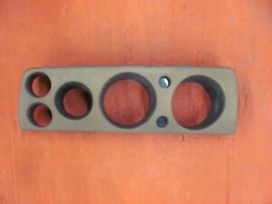 Original 1968 68 Amc Javelin Amx Tan Brown Dash Housing 3601490