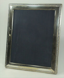 Carr S Of Sheffield Ltd Sterling Silver Picture Frame 8 X 9 7 8 461 Anka