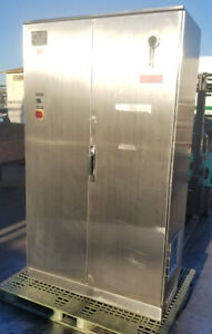 Stainless Steel Industrial Control Panel Enclosure Cabinet 48 w X 24 d X 82 t