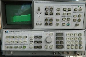 Hp 8566b Spectrum Analyzer 100hz 2 5 Ghz 2 22 Ghz