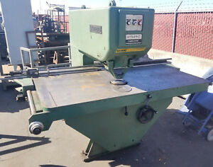 Strippit Super Punch Press 30 30 30 Ton Fabricator W Tooling