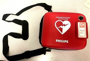 Philips Heartstart Frx Aed case battery install By 02 2019 2 Smartpads