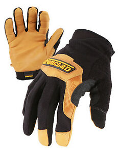 Ironclad Performance Wear Cowboy Ranchworx Safety Gloves Washable Bullwhip Leat