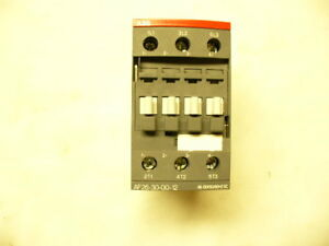 Abb Af26 30 00 12 Non reversing 3 pole Contactor Hvac new In The Box