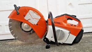 Stihl Ts440 Cutquik 14 Professional 66 7cc Gas Powered Concrete Saw great Shape
