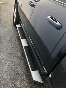 6 Oe Style Silver For 02 08 Dodge Ram 1500 2500 3500 Quad Cab Running Boards