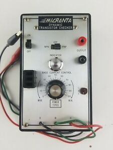 Micronta Dynamic Transistor Tester Untested
