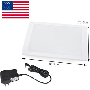 Usa Dental X ray Film Illuminator Light Box X ray Viewer Light Panel A4 Led Seal