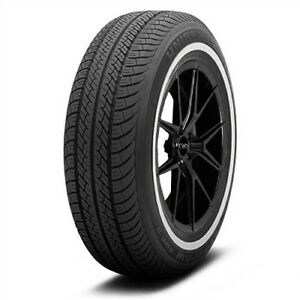 2 New P215 70r15 Uniroyal Tiger Paw Awp Ii 97t White Wall Tires