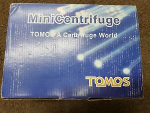 Tomos Mini Centrifuge Used In Box