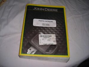 John Deere 3020 Tractor Parts Catalog Pc 0858 Manual Thick April 05