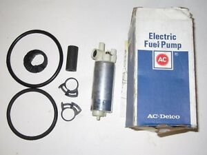 New Nos Gm Ac Delco 25166801 Oem Electric Fuel Pump Ep385