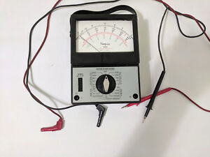 Multimeter Model 14510 With Leads Made By The Simpson Electric Co