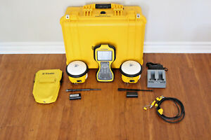 Trimble Dual Sps985 Gps Gnss Glonass Rtk Base Rover Receivers W Tsc3 Scs900