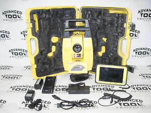 Leica Icon Robot 50 Robotic Total Station Icr55 W Leica Cc80 Tablet Controller
